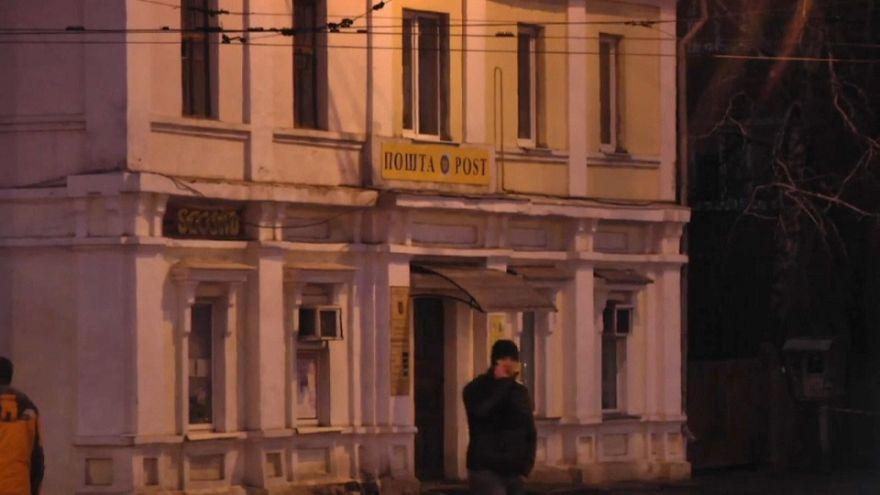 Украина: захватчика почты арестовали на два месяца