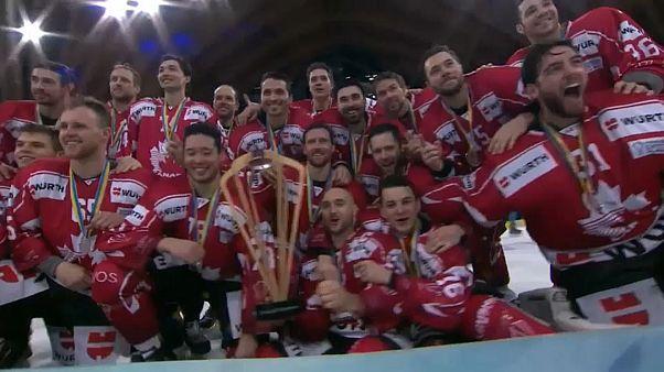 Le Canada gagne la Coupe Spengler