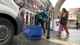 Emelt biztonsági készültség szilveszter éjjel a magyar utcákon