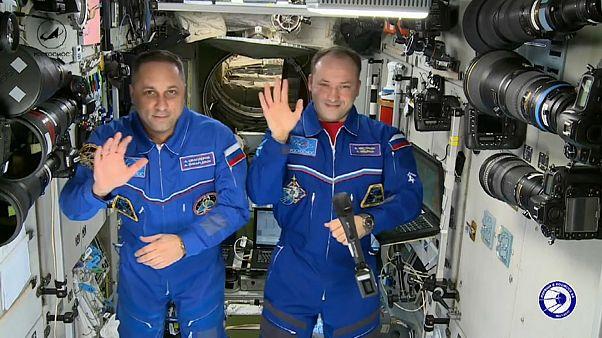 Cosmonautas russos querem milagres em 2018