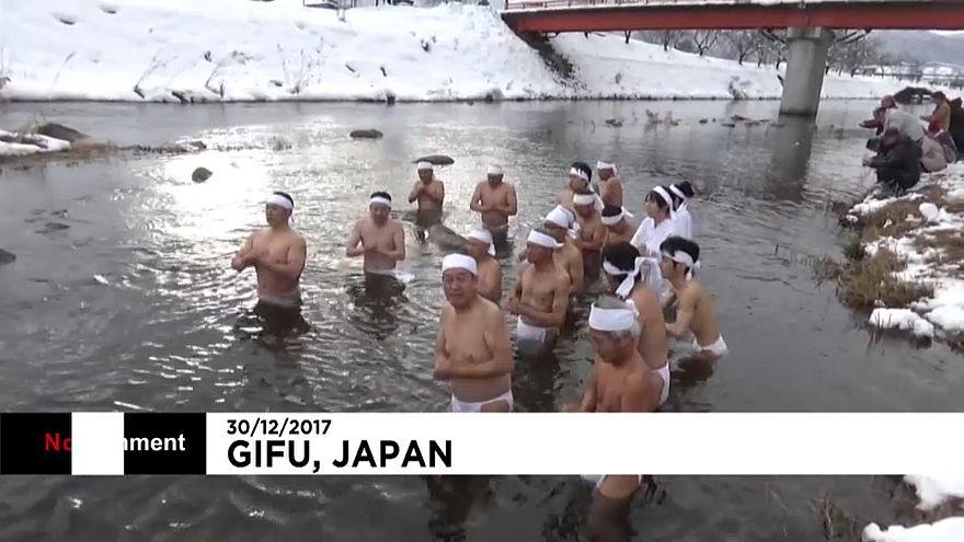 Cérémonie de purification au Japon