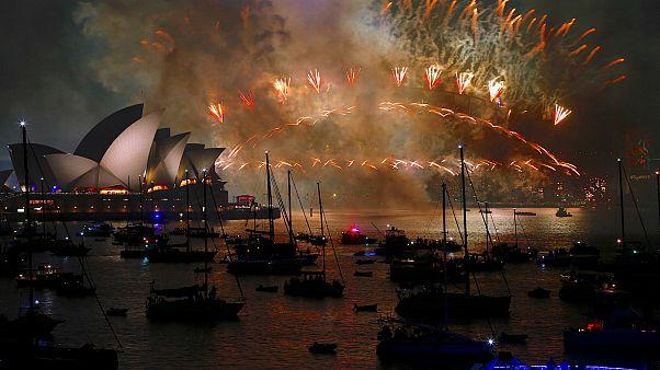 استرالیا؛ سیدنی به استقبال سال ۲۰۱۸ رفت