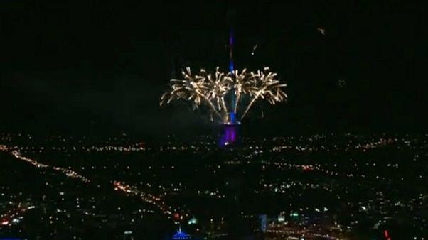 برگزاری جشن سال نو در نیوزیلند