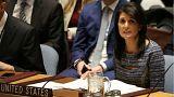 سفیر آمریکا در سازمان ملل: دولت ایران در برابر آزمون مردم قرار دارد