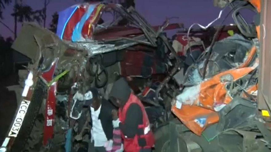 Kenya'da trafik kazası: 36 ölü