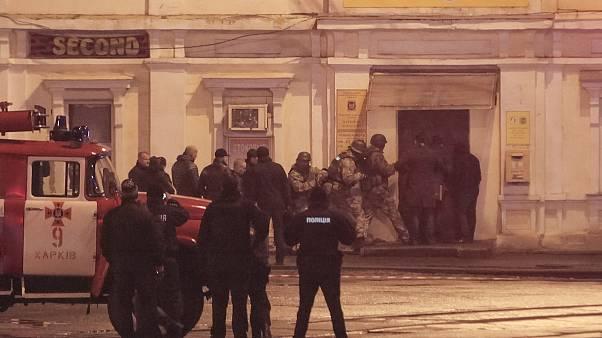 Aίσιο τέλος στην ομηρία στο Χάρκοβο