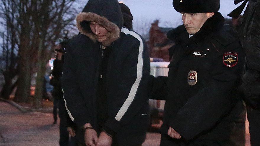 Ομολόγησε ο δράστης της επίθεσης στην Αγία Πετρούπολη