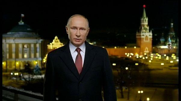 Путин поздравил россиян