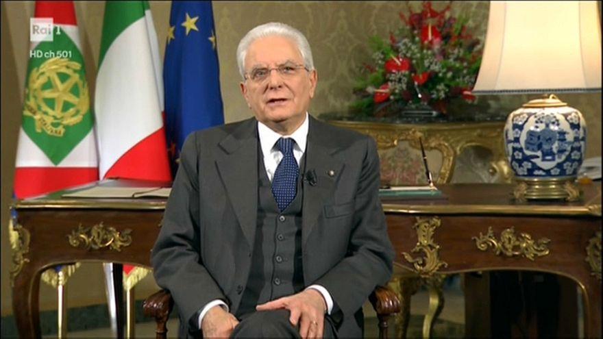"""Mattarella: """"Il lavoro sia la priorità"""". Il discorso di fine anno"""