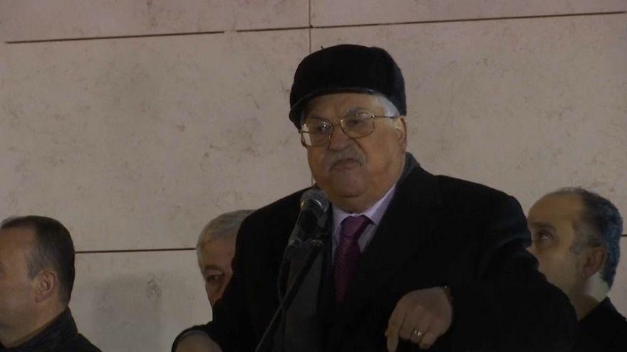 """Abás se reafirma: """"Palestina será un Estado Independiente"""""""