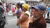 Venezuela'da halk öfkeli