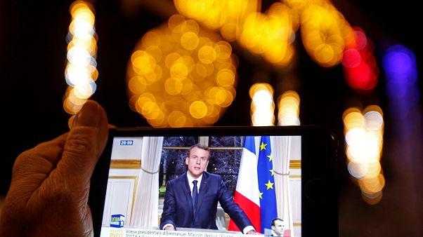 Emmanuel Macron : les premiers voeux