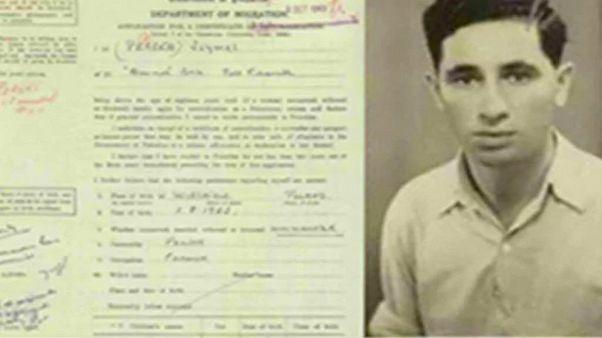 وثيقة تاريخية.. شمعون بيريز طلب الحصول على الجنسية الفلسطينية
