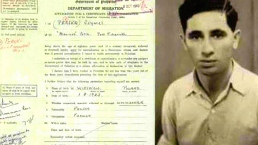 Şimon Peres'in Filistin vatandaşlığına yaptığı başvuru ortaya çıktı