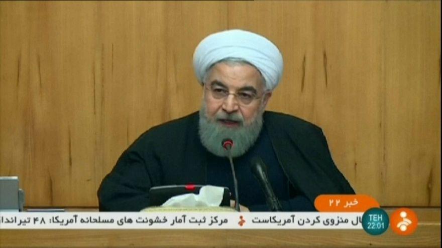 Ruhani'den Trump'a: Hakkınız yok