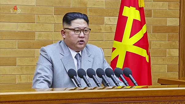Kim Jong Un delivered his speech on New Year's Day