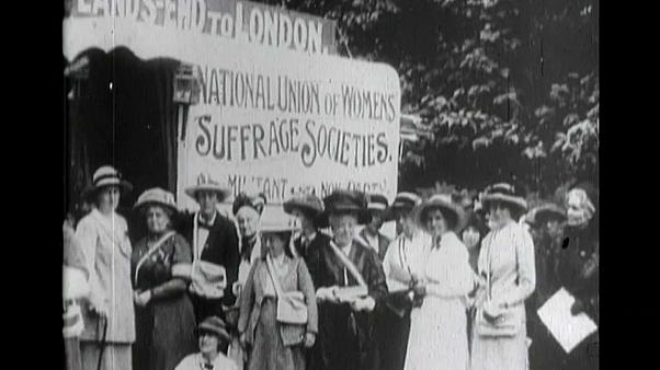 Great Britain and Ireland began to grant women the right to vote in 1918
