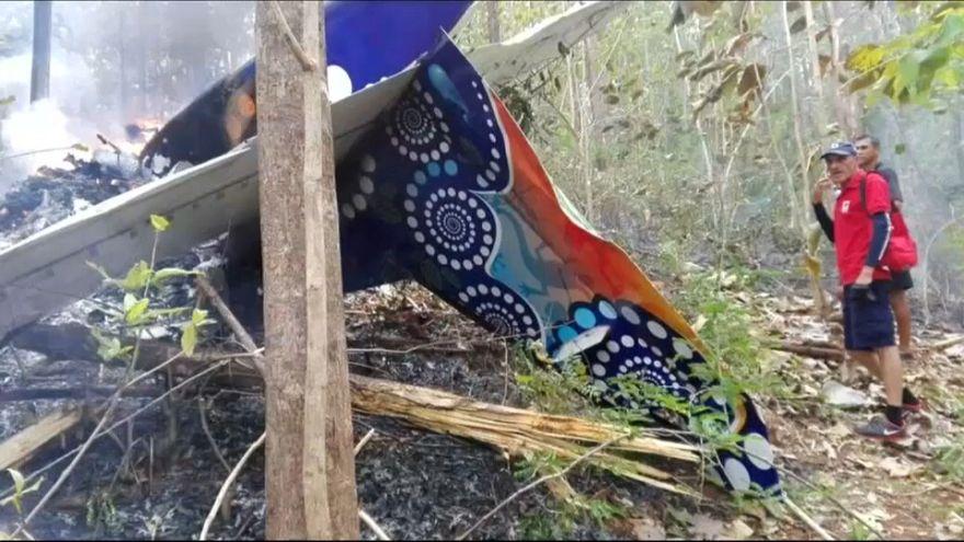 Doce muertos por un accidente aéreo en Costa Rica