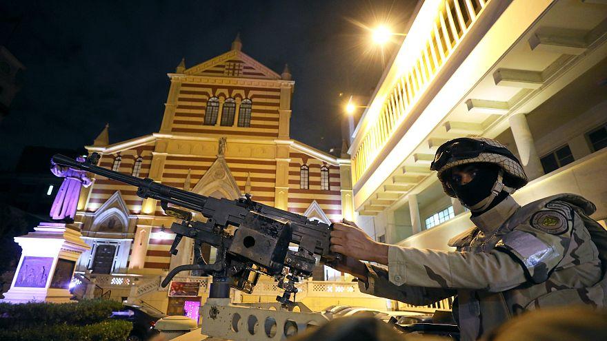 مقتل مسيحيين في هجوم على متجر خمور بمصر