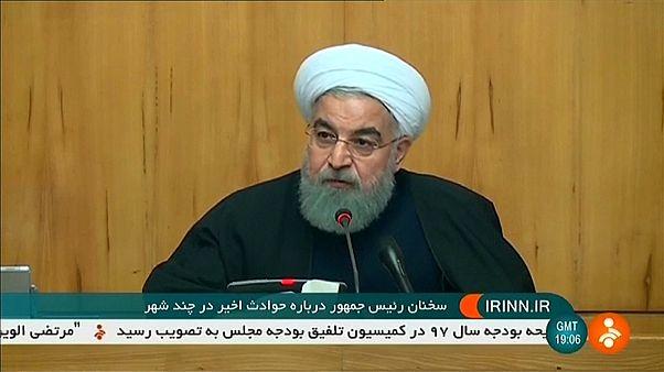 Presidente do Irão critica Trump por comentar protestos no país