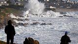 """Alarmstufe Orange: Sturm """"Carmen"""" peitscht mit 130 km/h über Frankreich"""