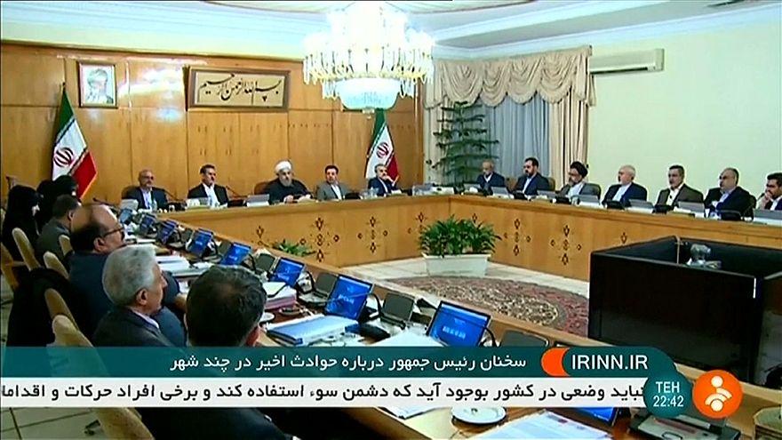 Ruhani'den Trump'ın mesajına sert tepki