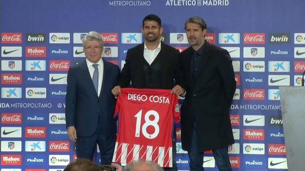 El Atlético se refuerza con Diego Costa y Vitolo