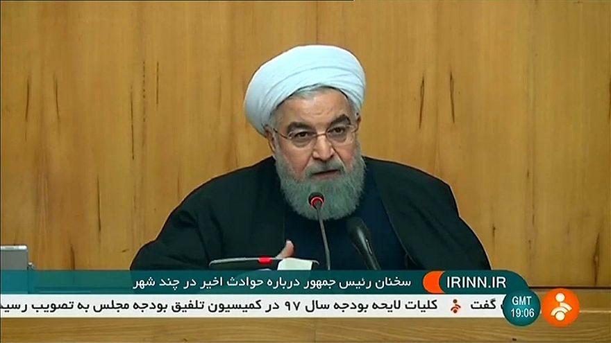Proteste mit 10 Toten im Iran: Ruhani warnt Trump
