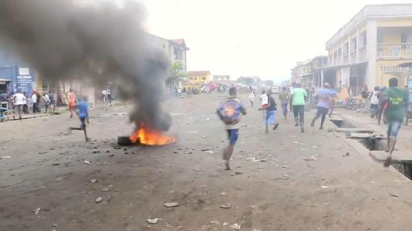 Протесты в Конго