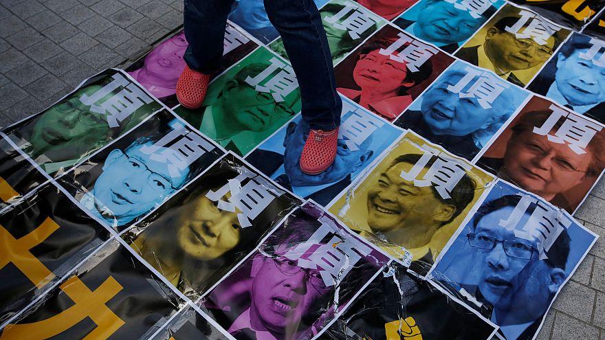Hongkong: Proteste gegen chinesische Regierung