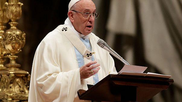 Papa'nın 2018'deki ilk mesajı göçmenler oldu