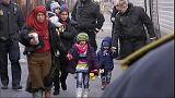 Flüchtlinge in Dänemark (ARCHIV)