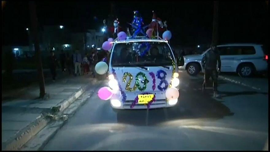 Irakische Christen feiern Neujahr