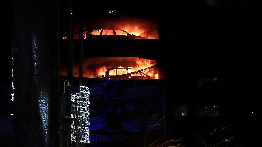 Liverpool: Großbrand verdirbt den Altjahresabend
