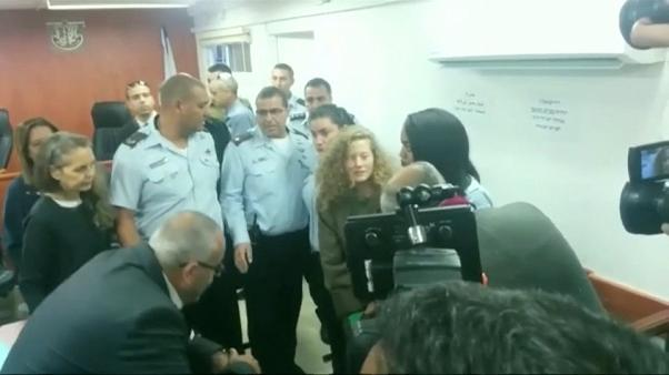 Israeli military court to try Tamimi on 12 counts of assault