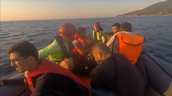Die ersten Flüchtlinge 2018