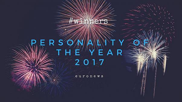 Personalidades do ano pelos leitores da Euronews
