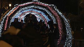 Un festival de luz, sonido y color para celebrar la llegada del nuevo año en Bakú