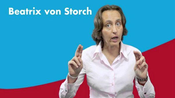 """بيتركس فون ستورش، البرلمانية ورئيسة حزب """"البديل من أجل ألمانيا"""""""