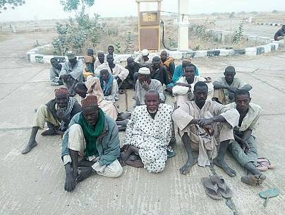 Farmers and fishermen were among Boko Haram detainees