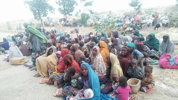 Former Boko Haram abductees are being questioned in Borno state