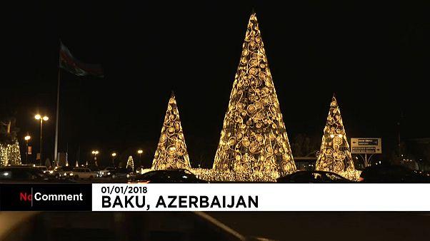 Baku im Lichterglanz