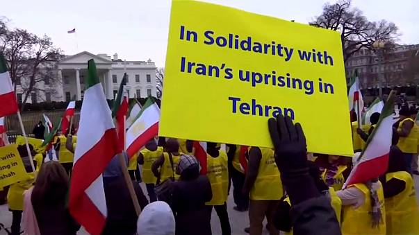 Support for Iran's protesters
