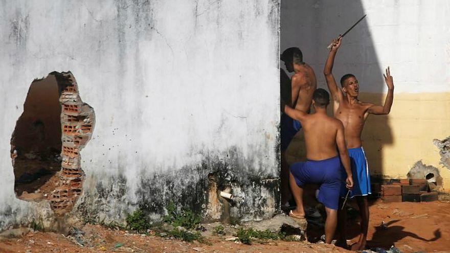 أعمال شغب في أحد سجون البرازيل