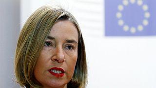 EU foreign policy chief Mogherini