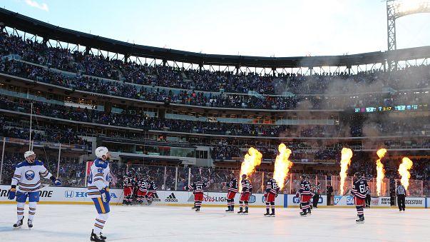 NY Rangers vencem Buffalo Sabres no 'Clássico de Inverno' da NHL