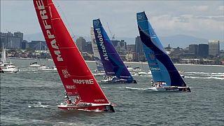Volvo Ocean Race: из Мельбурна - в Гонконг