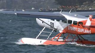 Wasserflugzeug abgestürzt