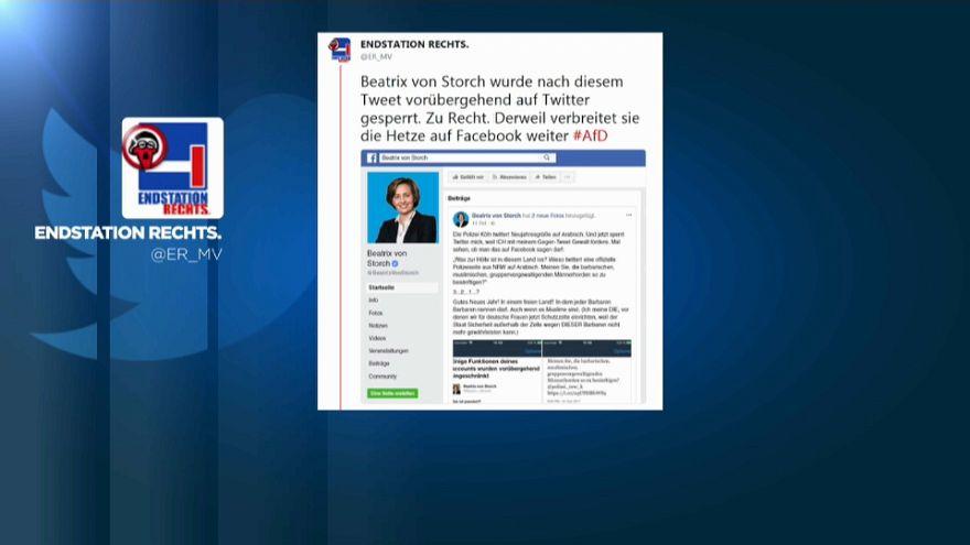 """il tweet """"incriminato"""" di Beatrix Von Storch"""