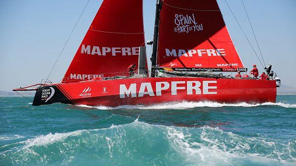 Volvo Ocean Race: Mapfre leads start of leg 4